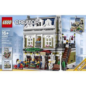 ASSEMBLAGE CONSTRUCTION LEGO® CREATOR 10243 Le Restaurant Parisien