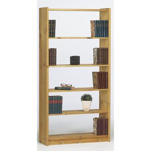 Meuble de Rangement 81x29x170 cm en Pin Mexicain Corona /él/égante Biblioth/èque Tidyard Biblioth/èque /à 5 Niveaux