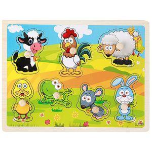 PUZZLE Puzzle en bois jouet éducatif les enfants pour con