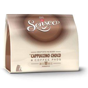 CAFÉ Senseo Cappuccino Choco 10 x 8 Dosettes de Café