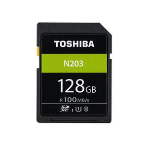 CARTE MÉMOIRE Carte mémoire 128 Go TOSHIBA N203 U1 Class10 Carte