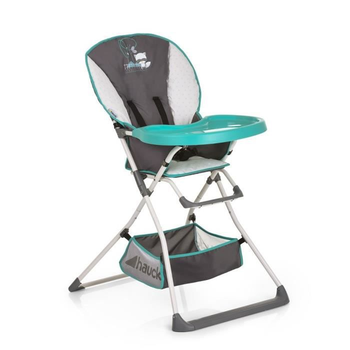 HAUCK Chaise haute Mac Baby Deluxe - forest fun