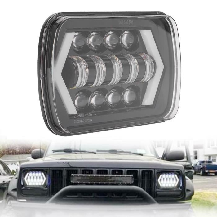 210W 6000K 21000Lm H4 Led Phare Ip67 Phare Fit Pour Jeep Cherokee Xj 12-24V