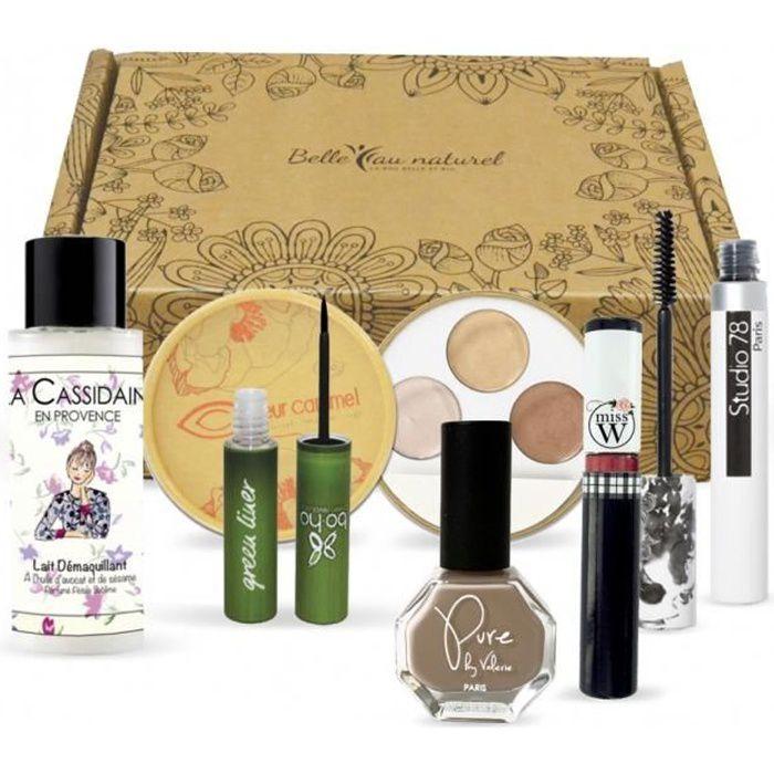 Coffret édition limitée de 6 essentiels maquillage BIO & NATUREL- 100% marques françaises - 100% full size