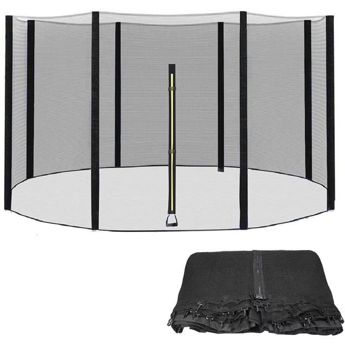 Accessoires de trampoline GXFXLP Filet Trampoline, Filet de Remplacement de Trampoline, Filet de s&eacutecurité, pour Tra450