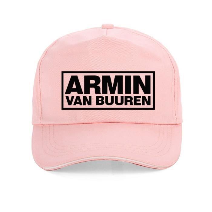 ARMIN VAN BUUREN casquette de baseball imprimée - ASOT HOUSE, musique, IBIZA RAVE DJ, chapeaux régla Rose