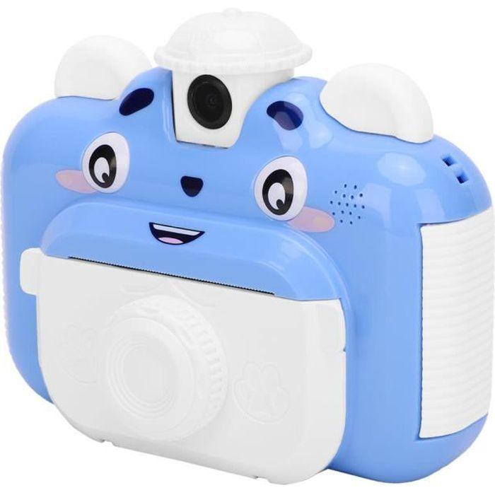 Zerodis Appareil photo pour enfants Caméra Portable à Impression Simple pour Enfants avec Écran Coloré 2,4po pour Enfants de 4