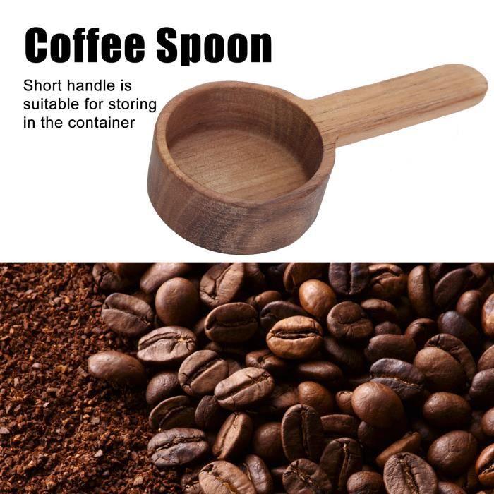 ART☪Cuillère à Mesurer à Soupe en Bois à Café Cuisine pour Grains de Café (8g )☪Lv.life☪NIM