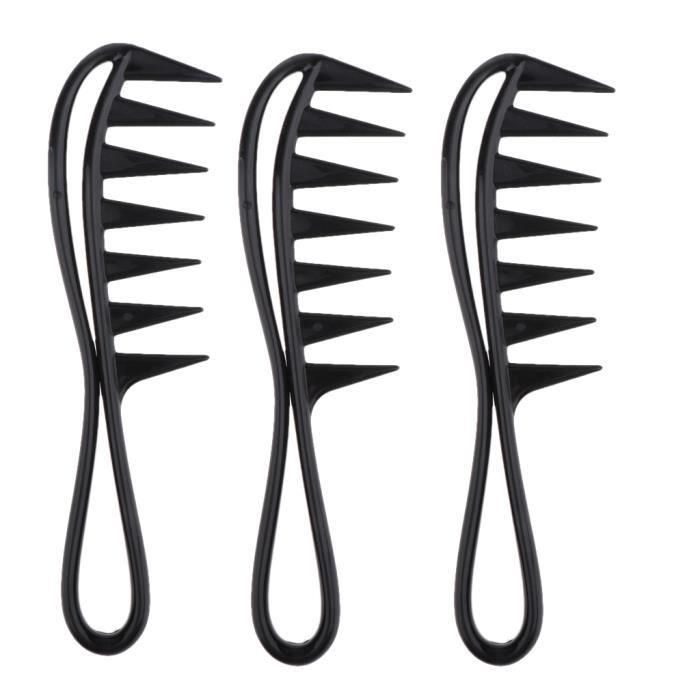 BROSSE MANUELLE - PEIGNE 3 peignes de cheveux