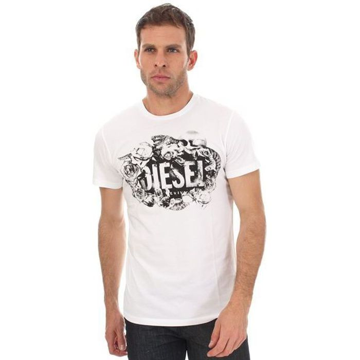 Tee shirt DIESEL Diesel Blanc