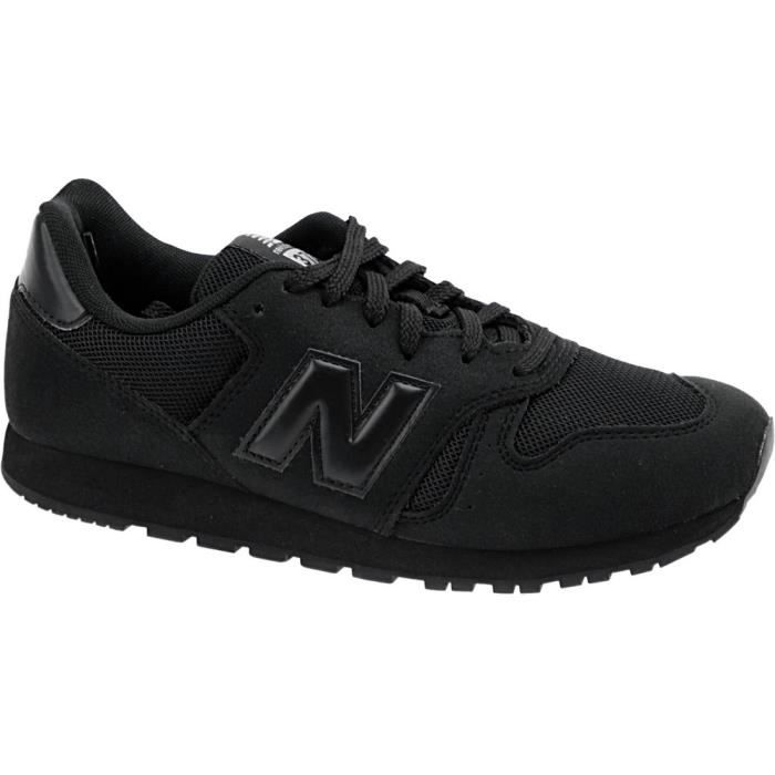 New Balance KJ373ABY Enfant Baskets Noir