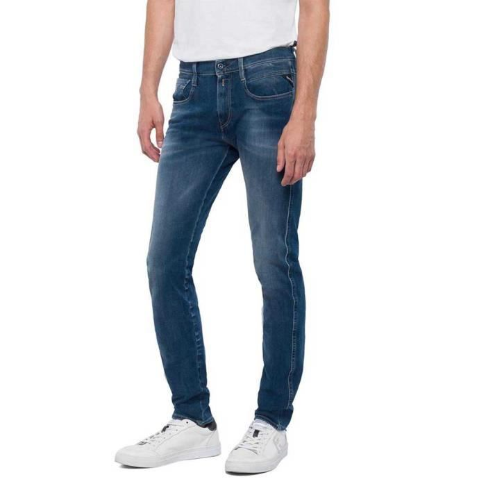 Vêtements Homme Pantalons Replay Anbass Hyperflex+ L34