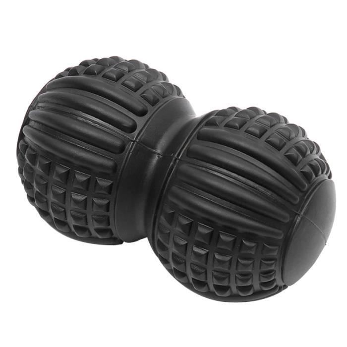 1 PC Pied Plantaire Boule De Massage Rayure Muscle Balle Fitness Double Peanut Training Relaxation ROULEAU DE MASSAGE