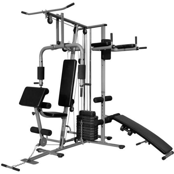 Appareil de musculation multifonctionnel 65 kg