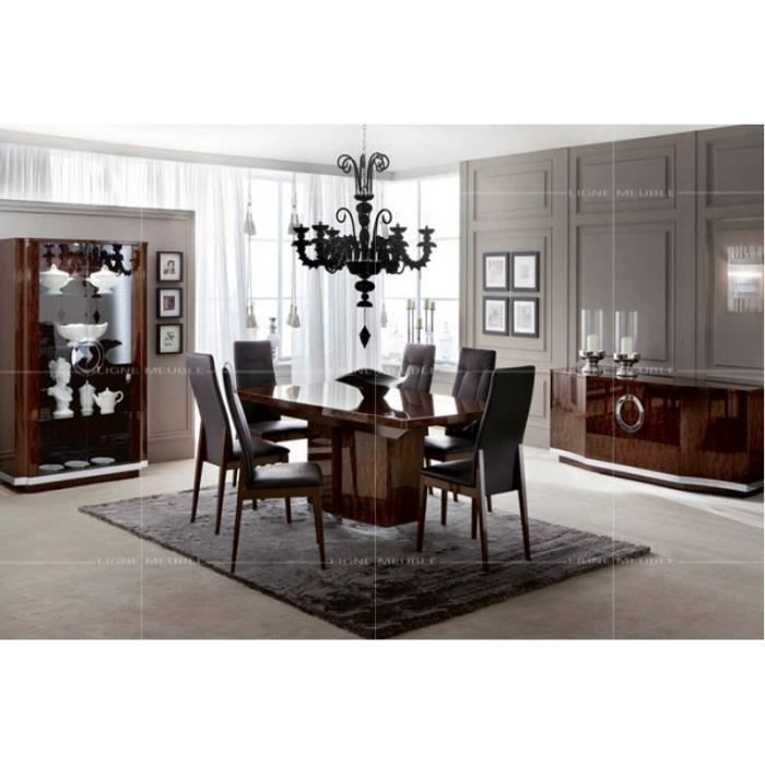 torino laque noyer ensemble salle a manger buffet. Black Bedroom Furniture Sets. Home Design Ideas