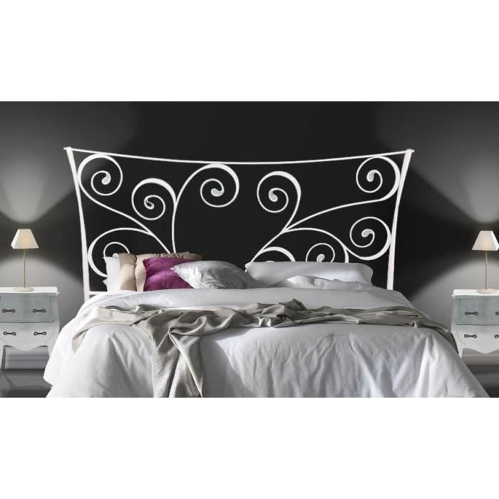 t te de lit en fer forg mod le amazon ii achat. Black Bedroom Furniture Sets. Home Design Ideas
