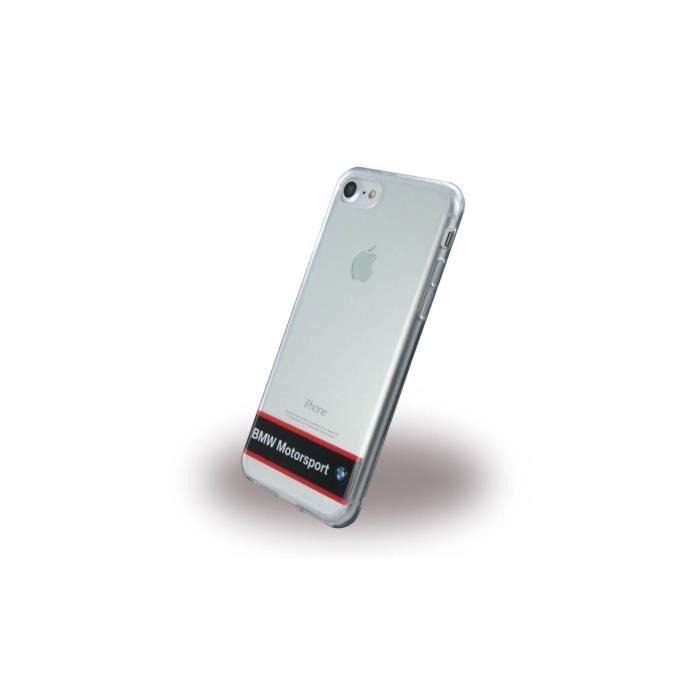 coque iphone 7 bmw motorsport silicone transparent
