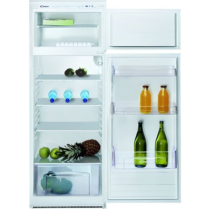 Frigo intgrable cheap excellent frigo samsung rfhepn - Frigo congelateur encastrable 2 portes ...