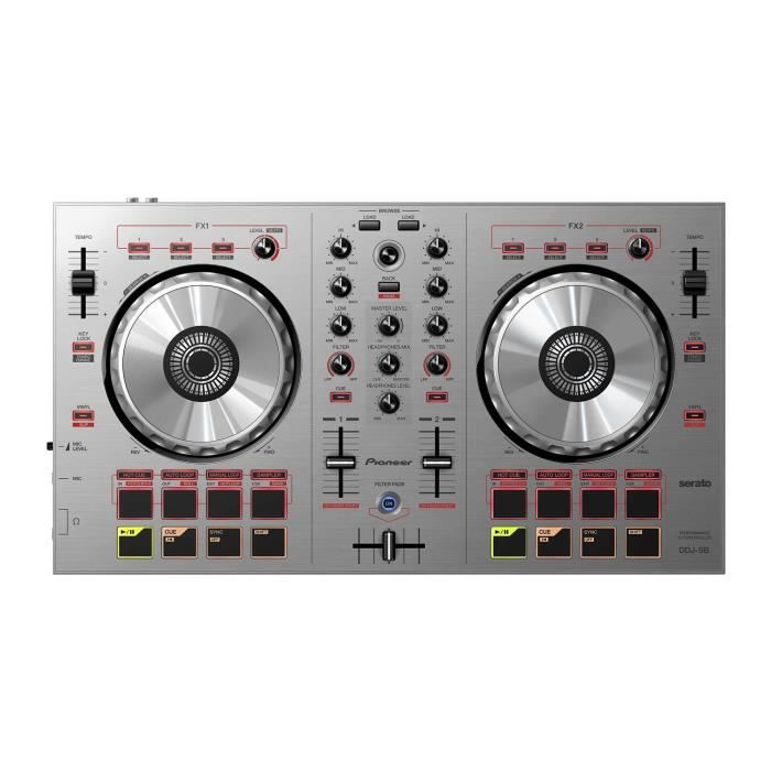 platine dj pioneer ddj sb s platine dj avis et prix pas. Black Bedroom Furniture Sets. Home Design Ideas