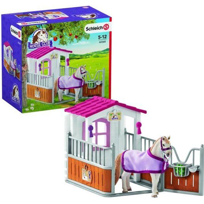 Schleich Horse Club 42368 Pferdebox lusitanien jument jeu personnage cheval Tierfigur
