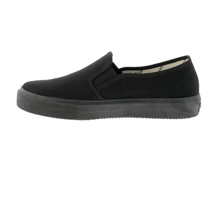 BASKETS SLIP ON MONO NOIR - Vict…