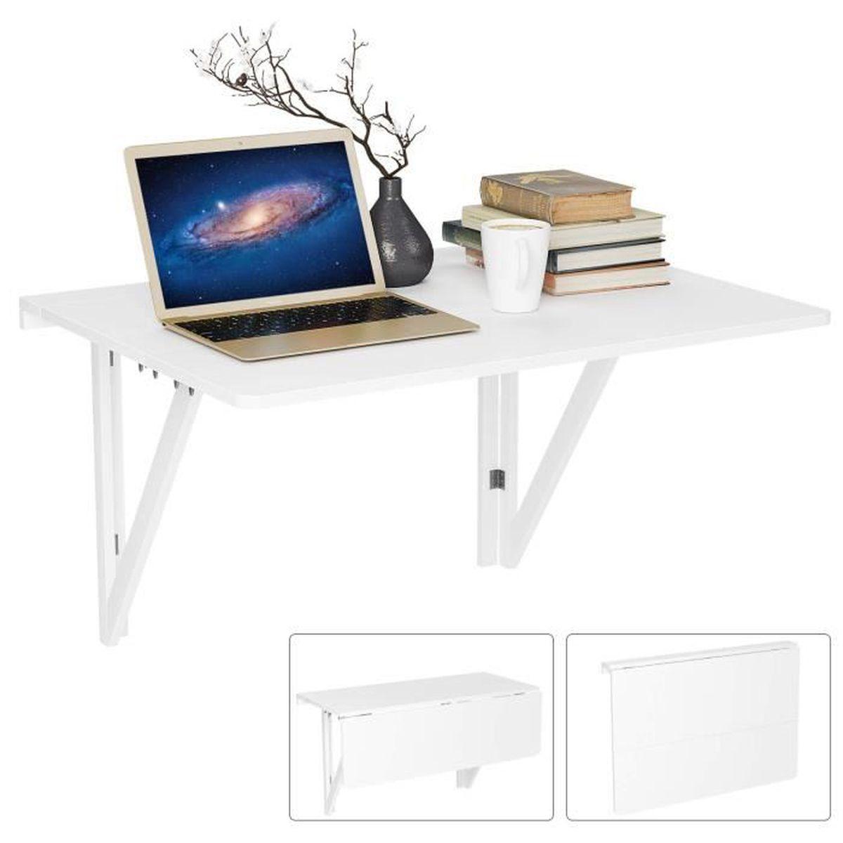 Table Rabattable Pour Cuisine ameublement et décoration salle à manger homfa table pliante