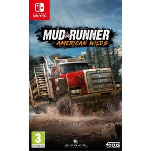 JEU NINTENDO SWITCH Spintires Mudrunners AWE Jeu Switch