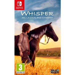 JEU NINTENDO SWITCH Whisper Ari, La cavalière intrépide Jeu Switch