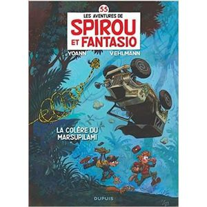 BANDE DESSINÉE Spirou et Fantasio Tome 55