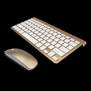PACK CLAVIER - SOURIS 2,4 Ghz Clavier et souris sans fil ultra-minces Av