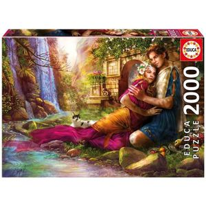 PUZZLE EDUCA Puzzle 2000 Jardin Secret