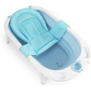 BAIGNOIRE   Baignoire Pliable pour Bébé 0-36 Mois avec Hamac