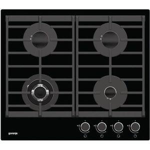 PLAQUE GAZ GTW641UB Gorenje Table de cuisson à gaz 60cm verre