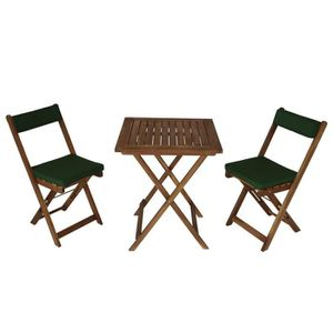 Set balcon table pliante 2 chaises pliantes 2 set housse ...