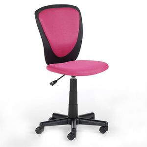 fauteuil de bureau rose achat vente fauteuil de bureau. Black Bedroom Furniture Sets. Home Design Ideas