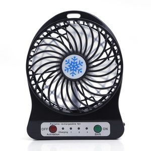 VENTILATEUR iProtect Mini ventilateur USB en métal à pile - Ve