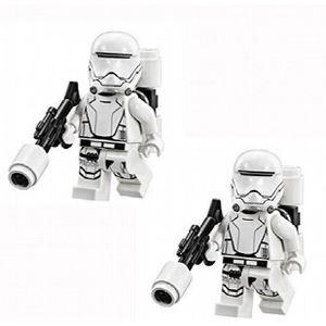 ASSEMBLAGE CONSTRUCTION Jeu D'Assemblage LEGO Star Wars - 2 figurines de p