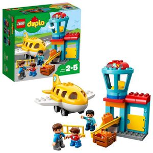 ASSEMBLAGE CONSTRUCTION Lego Duplo Town Aéroport Building Blocks pour les
