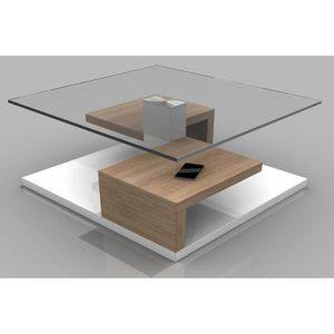 Table basse sonoma achat vente table basse sonoma pas for Table basse chene clair pas cher