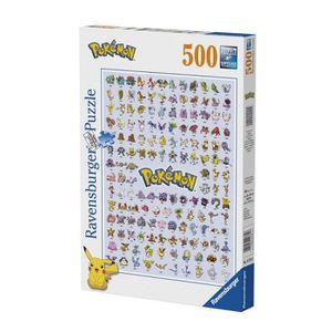 PUZZLE Ravensburger Pokémon Puzzle Pokédex 1ère génératio
