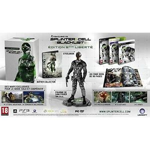 JEU PS3 Splinter Cell Blacklist 5th Freedom Collector Edit