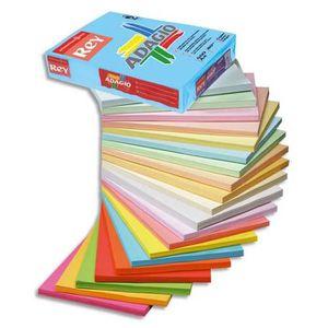 PAPIER IMPRIMANTE Ramette de 250 feuilles papier couleur pastel ADAG