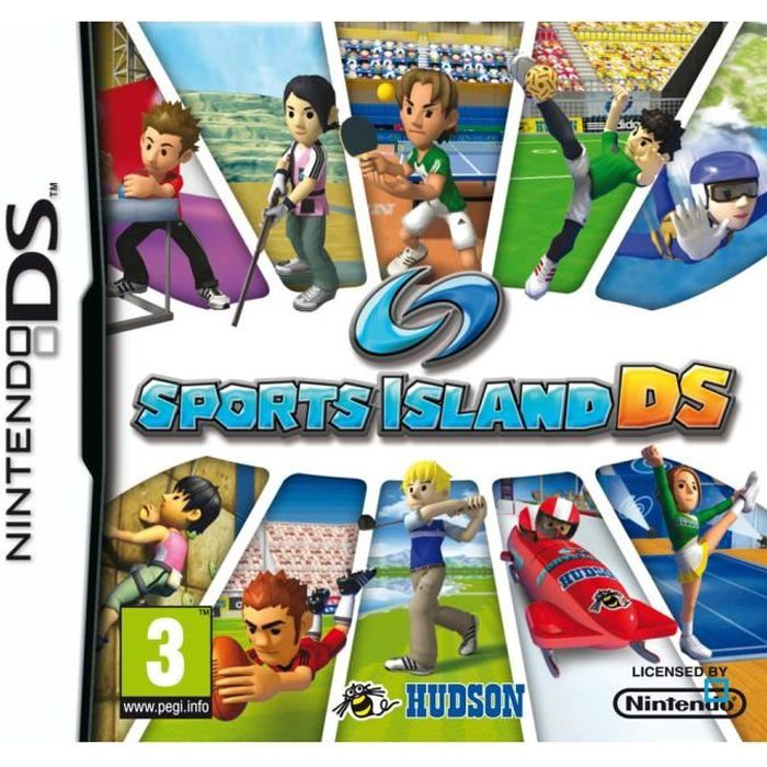 sports island jeu console nintendo ds achat vente jeu ds dsi sports island nds cdiscount. Black Bedroom Furniture Sets. Home Design Ideas