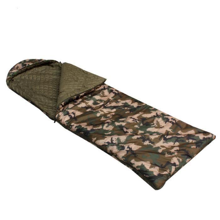 Sac de couchage camouflage simple produit extérieur chaud
