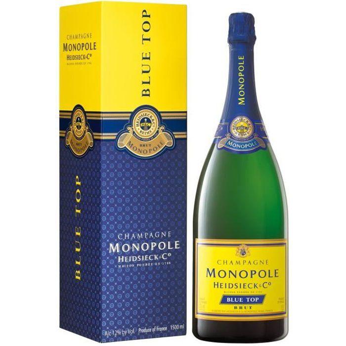 HEIDSIECK & Co Monopole Champagne Heidsieck & C° Monopole Blue Top Magnum sous étui - 150cl - 400411