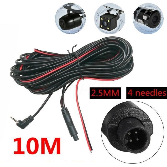 KIT POUR VOITURE Câble d'extension de caméra de recul Extension de caméra de recul Extension de caméra de recul de voiture Stable