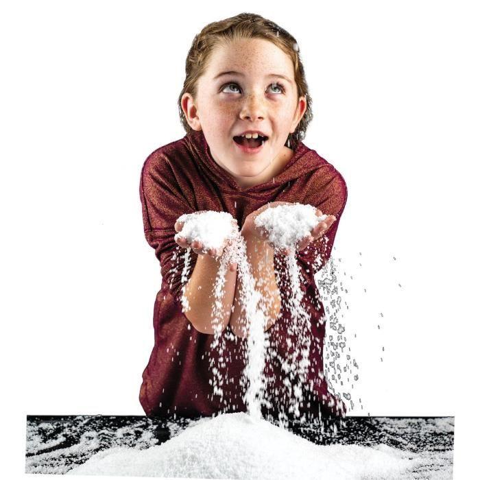 National Geographic - Kit découverte - neige instantanée à créer - Jeu scientifique et éducatif - STEM
