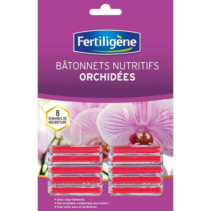 FERTILIGENE Batonnets Nutritifs Orchidee - 10 Batonnets
