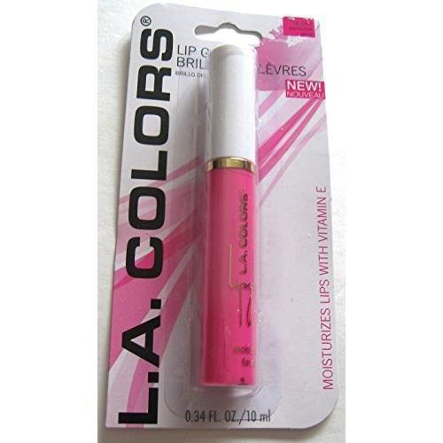 LA Colors Moisturizing Lip Gloss Paradise Pink