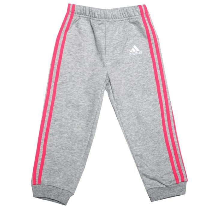 adidas performance Pantalon de jogging Favourite Knit Gris Clair Fille